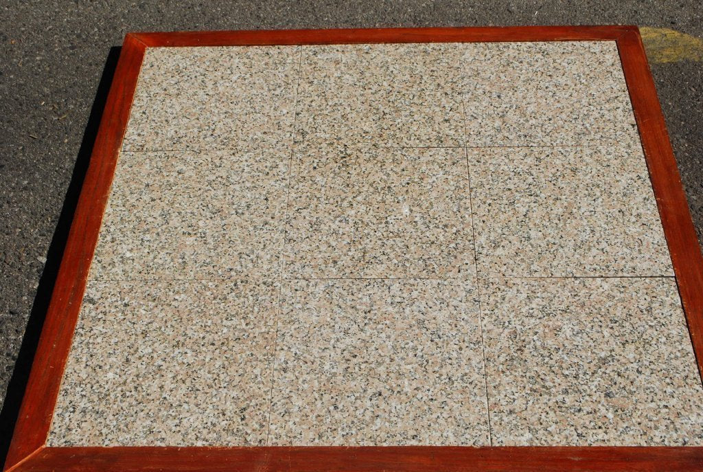 Polished Rosy Pink Granite Tile