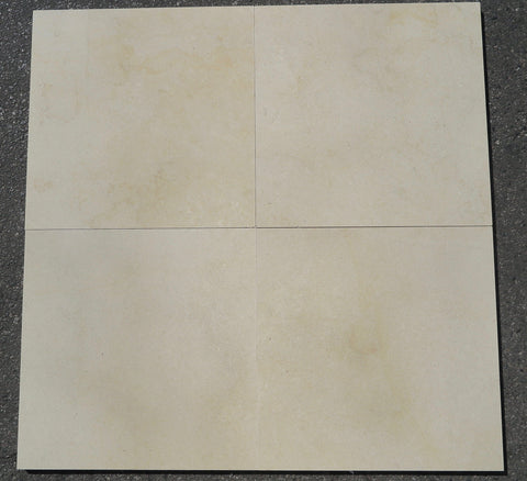 "Royal Satin Limestone Tile - 24"" x 24"" x 3/4"" Honed"