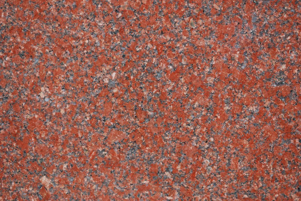 "Full Tile Sample - Ruby Red Granite Tile - 24"" x 24"" x 1/2"" Polished"