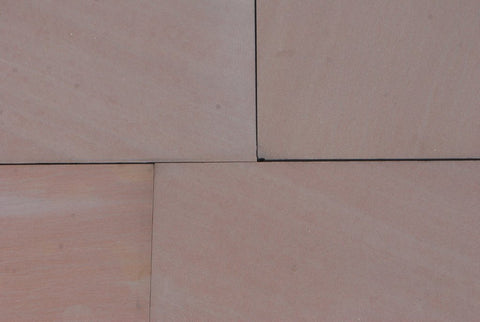 "Salmon Pink Sandstone Tile - 11"" x 18"" x 1/2"" Honed"