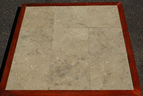 "Sea Grass Limestone Tile - 18"" x 18"" x 3/8"" - 1/2"""