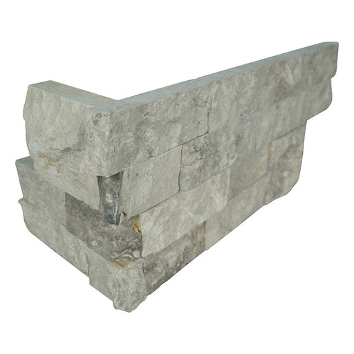 RockMount Stacked Stone Panel Silver Canyon LPNLMSILCAN618COR