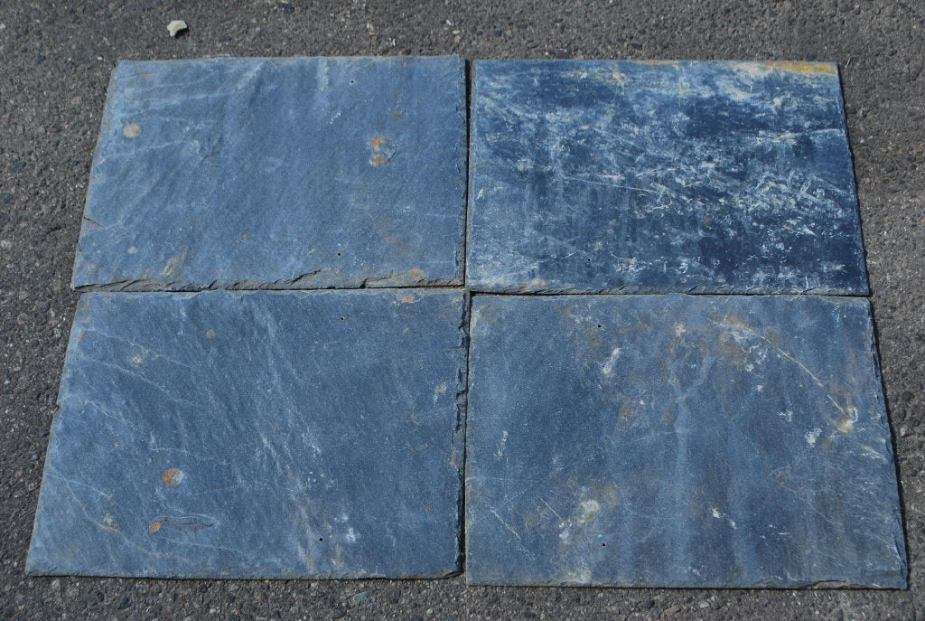 "Silver Grey Roof Tile - 8"" x 16"" x 1/4"""