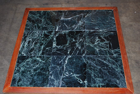"Spider Green Marble Tile - 12"" x 12"" x 3/8"""