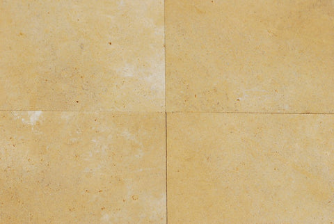 "St. Marc Jaune Limestone Tile - 18"" x 18"" x 5/8"" Honed"