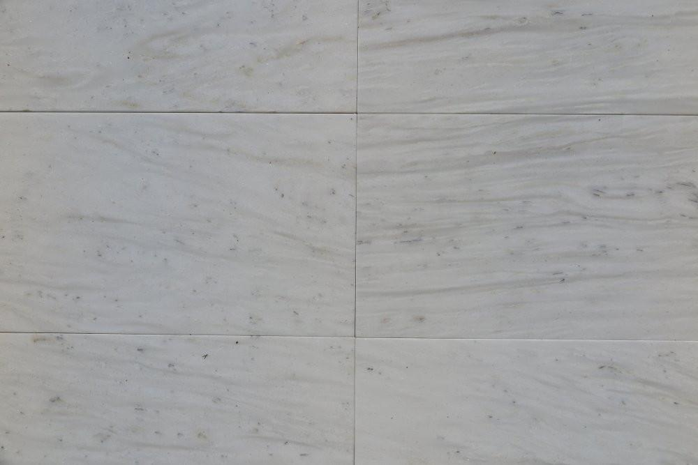 "Stellar White Marble Tile - 12"" x 24"" x 3/8"" Polished"