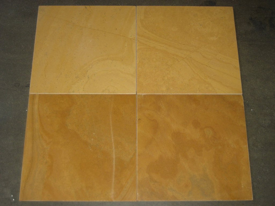 Sunflower Limestone Tile Polished