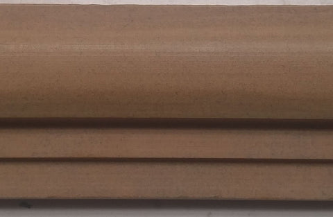 "Sunflower Limestone Chair Rail Liner - 11 13/16"" x 1 15/16"" x 1 1/8"" Honed"