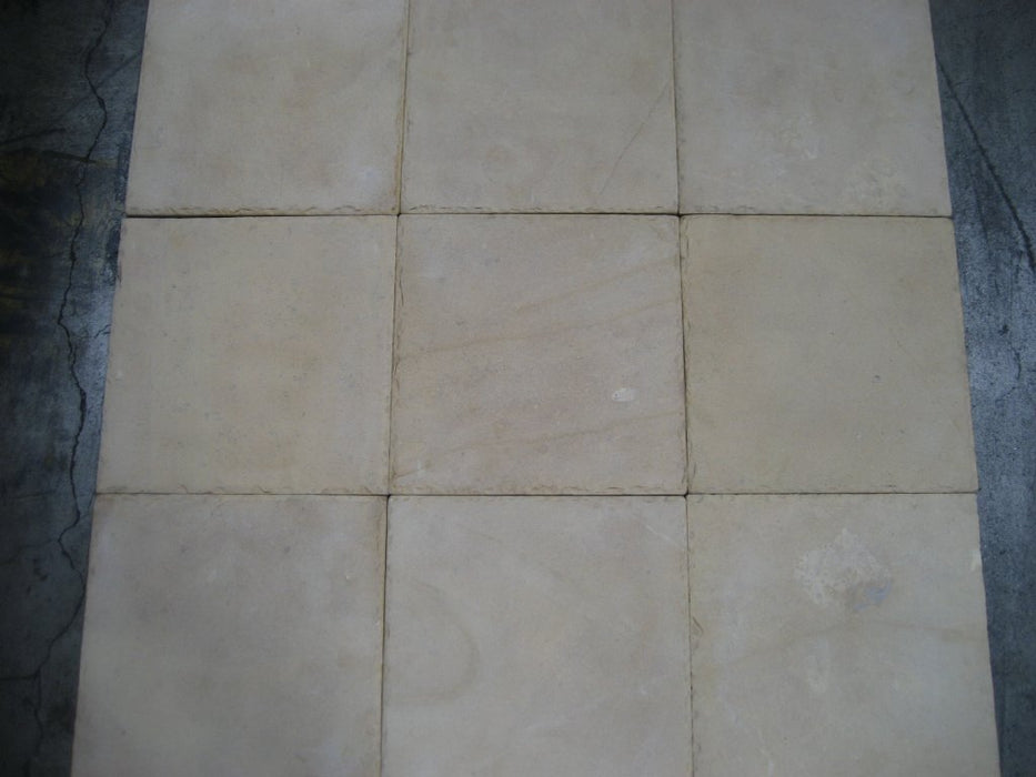 Sunflower Limestone Tile Sandblasted