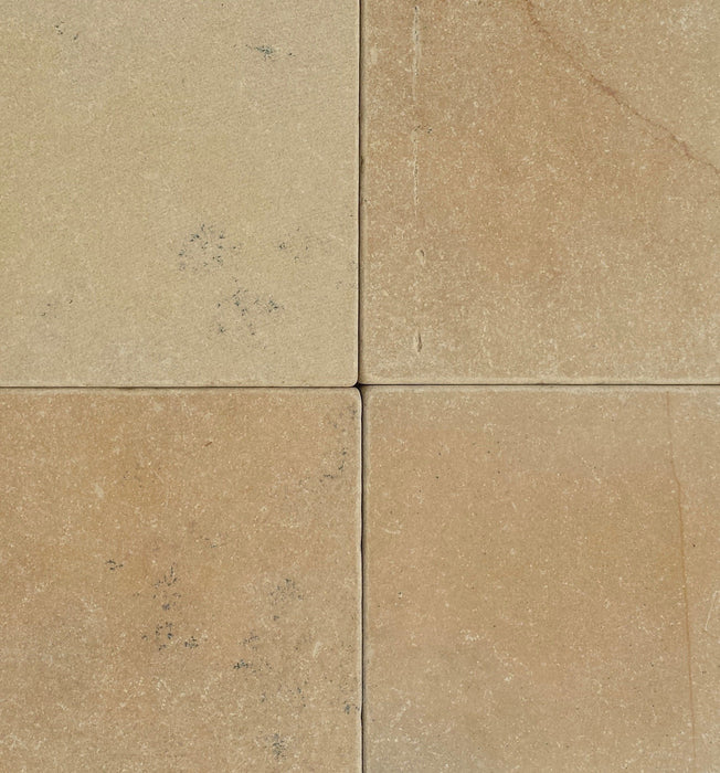 "Sunflower Limestone Tile - 4"" x 4"" x 3/4"" Tumbled"