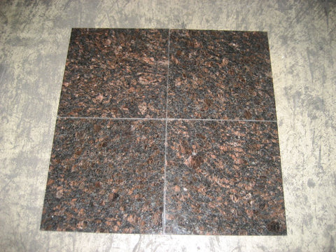 Tan Brown Granite Tile Polished