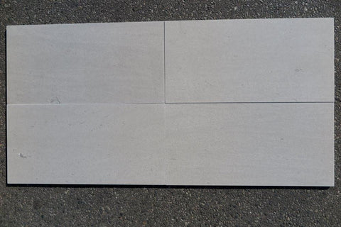 Tao Grey Limestone Tile Honed