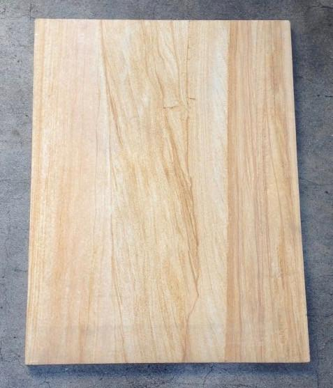 "Teakwood Sandstone Tile - 18"" x 24"" x 5/8"" Honed"