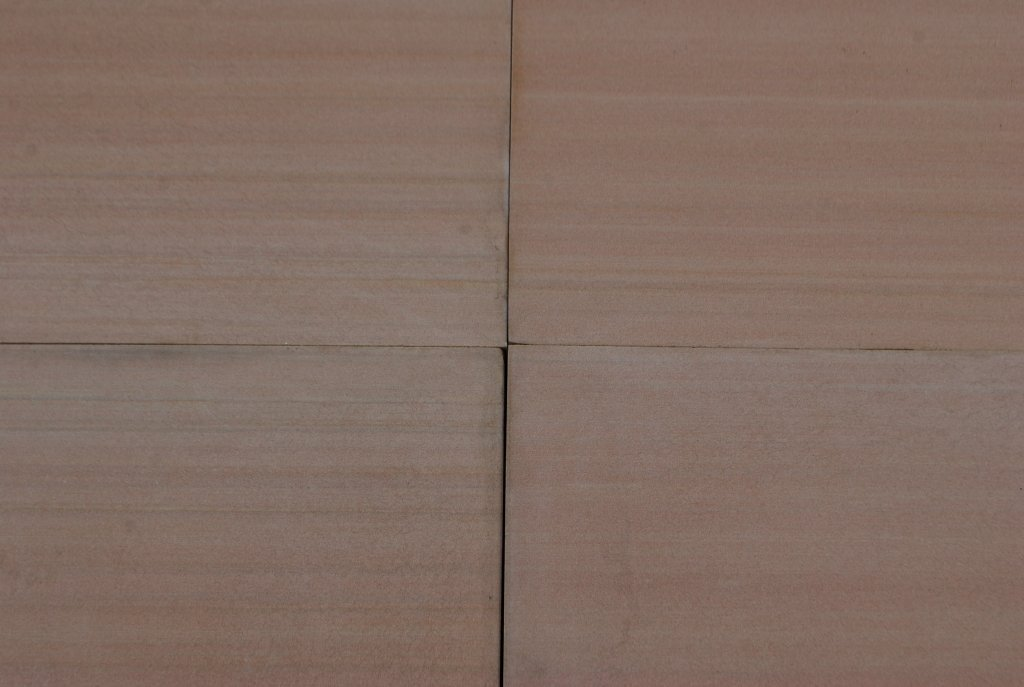 "Tea Rose Sandstone Tile - 16"" x 16"" x 3/8"" Honed"