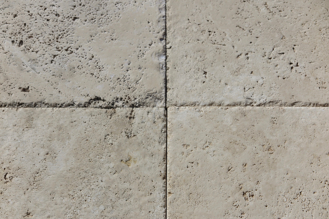 Turco Classico Cross Cut Travertine Tile - Chiseled & Brushed