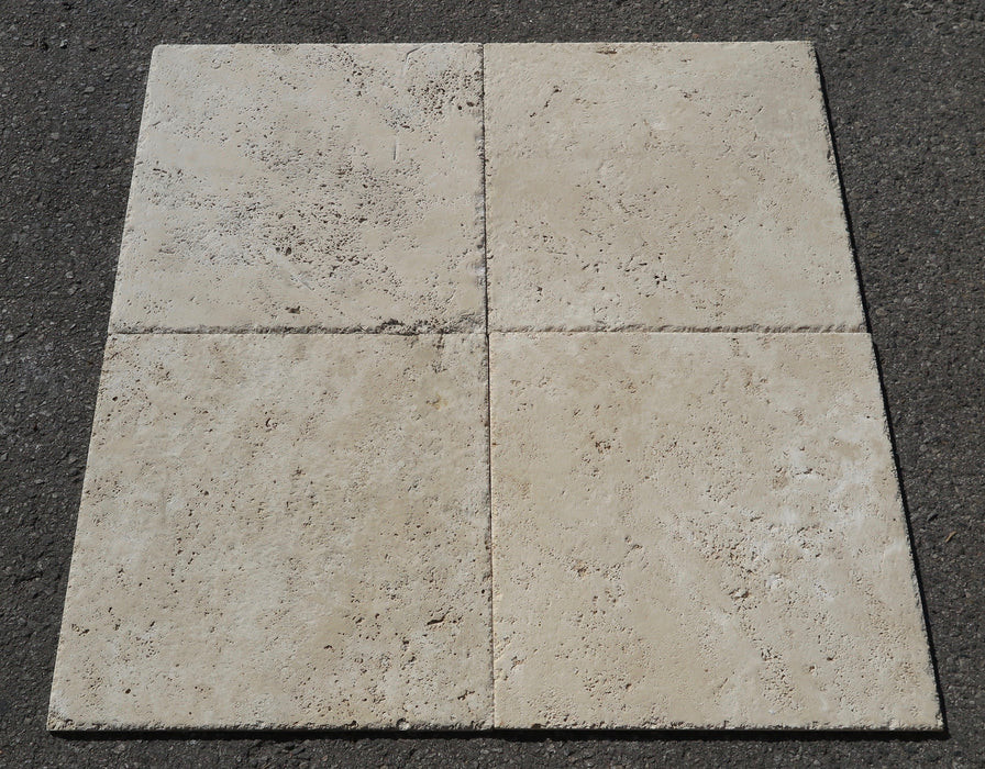 Chiseled & Brushed Turco Classico Cross Cut Travertine Tile