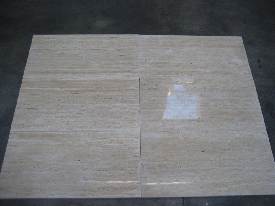 Turco Classico Vein Cut Travertine Tile Polished