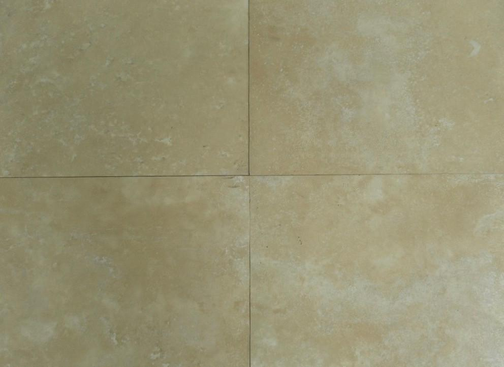 "Turco Classico Vein Cut Travertine Tile - 24"" x 24"" x 3/4"" Honed"