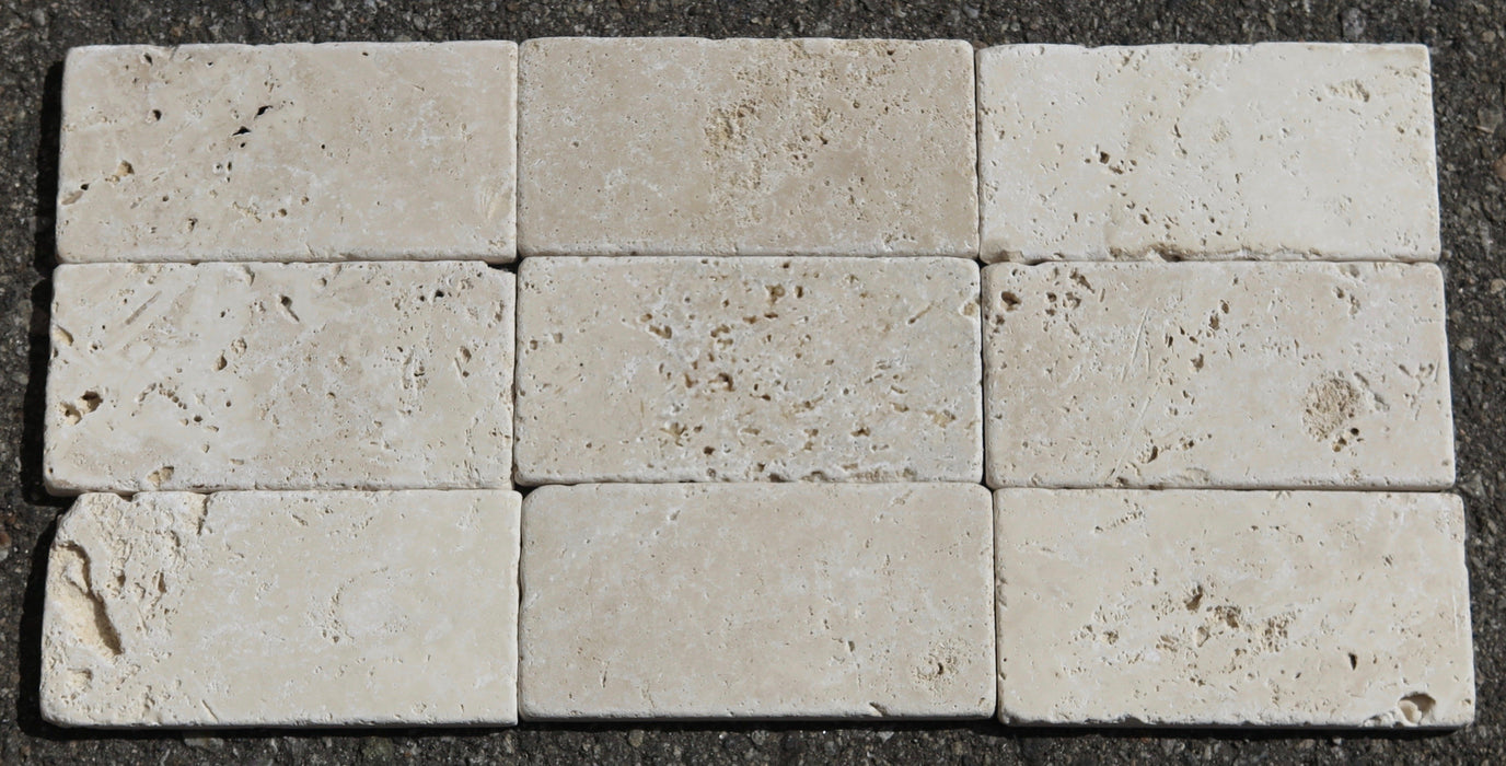 Turco Classico Cross Cut Travertine Tile Tumbled