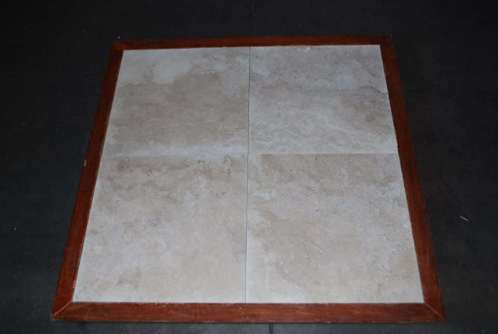 "Turco Classico Cross Cut Standard Travertine Tile - 12"" x 12"" x 3/8"""
