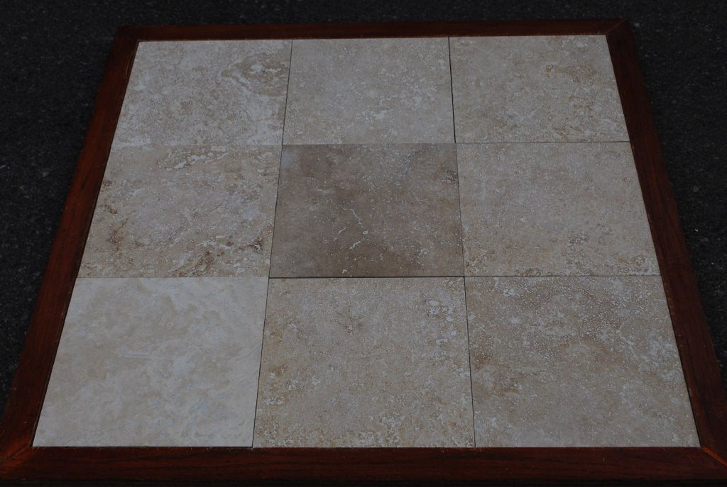 Turco Classico Cross Cut Commercial Travertine Tile Honed