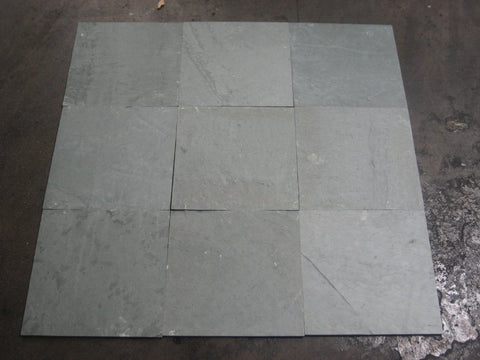 Unfading Dark Green Slate Tile - Natural Cleft Face, Gauged Back