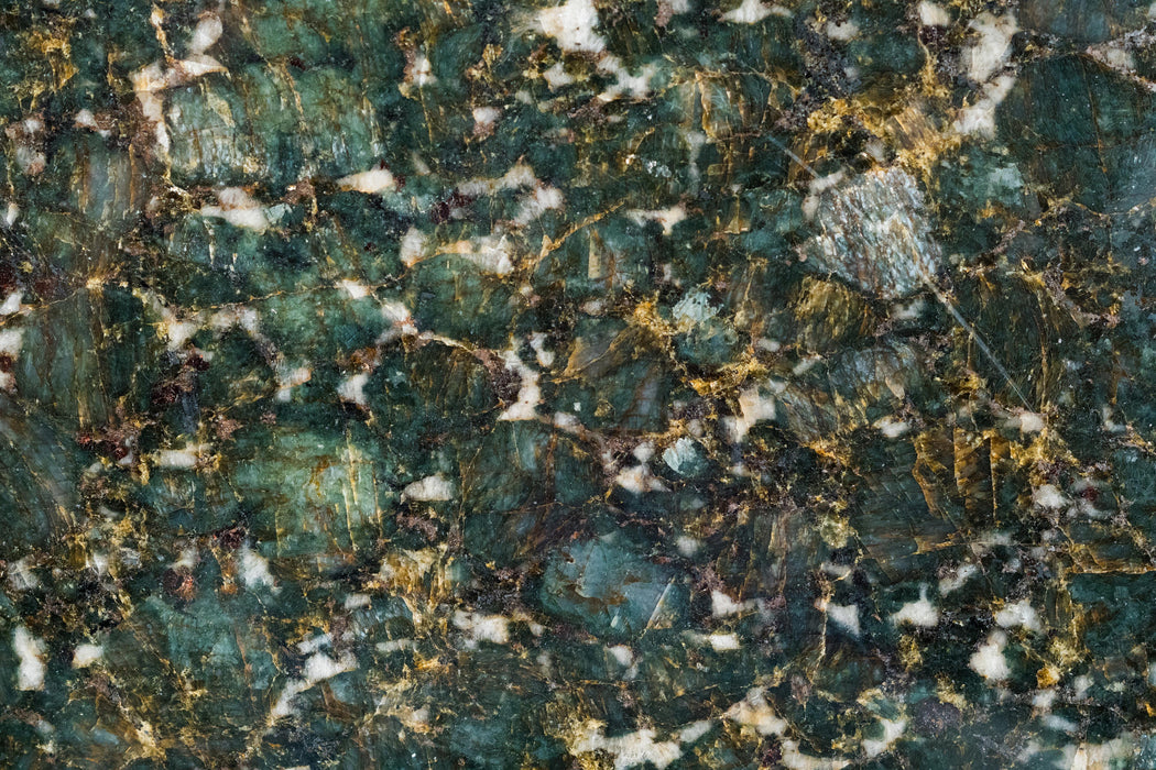 "Full Tile Sample - Verde Butterfly Granite Tile - 12"" x 12"" x 5/16"" Polished"