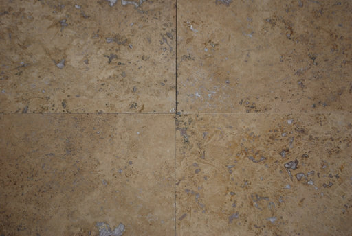 "Walnut Travertine Tile - 18"" x 18"" x 1/2"" Polished"
