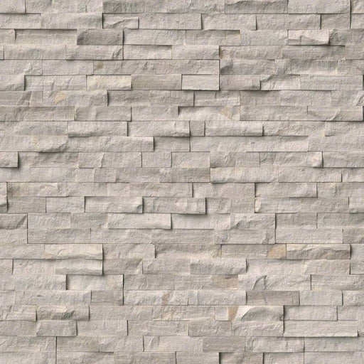 RockMount Stacked Stone Panel White Oak LPNLMWHIOAK624