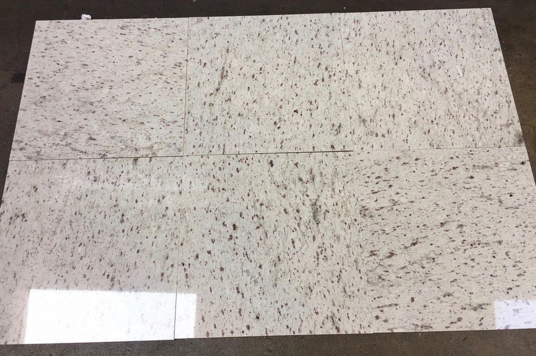 Polished White Galaxy Granite Tile
