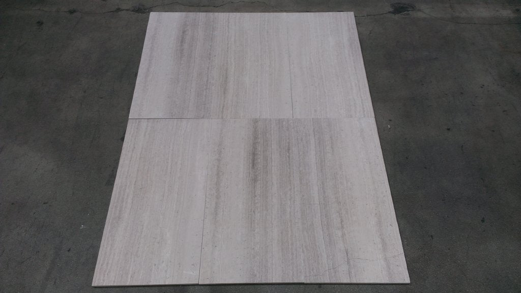 White Wood Marble Tile - Stone & Tile Shoppe