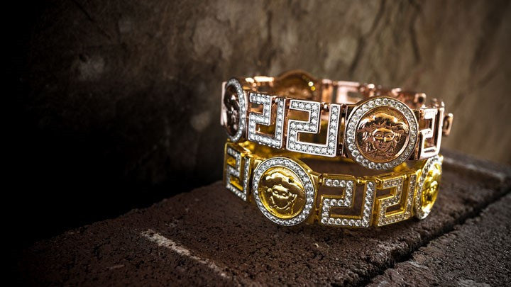 Hip Hop Gold & Rose Gold Plated Bracelets - Niv's Bling