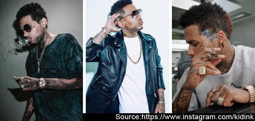 Kid Ink Hip Hop Jewelry