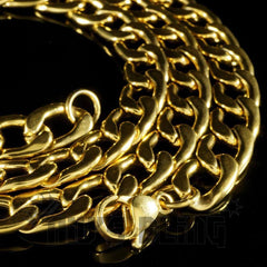 18K Gold Cuban Link Chain