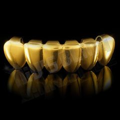 18K Gold Stainless Steel 8 Tooth Grillz