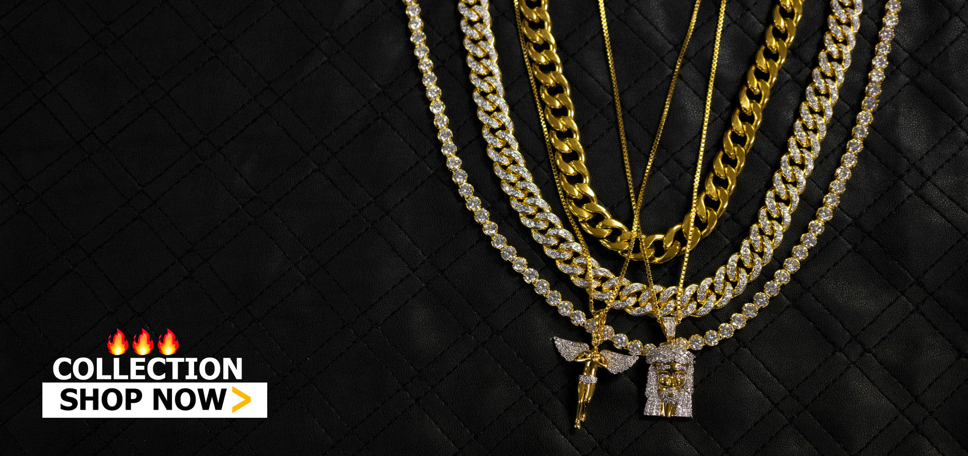 Hip Hop Fashion Jewelry Collection
