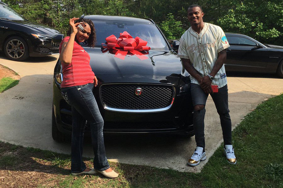 "Happy Birthday Mama Watson! Deshaun Buys His Mother Her ""First Official Car"""