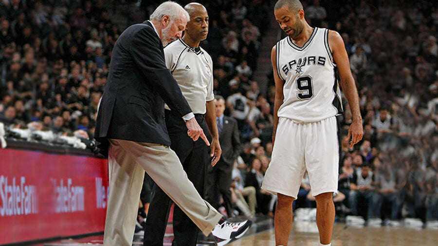 Popovich Dusts Off Old And 1's, Contemplates Filling in for Kawhi