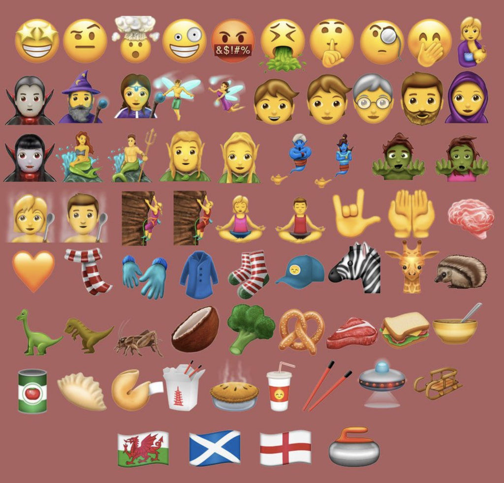 Here are the 69 New Emojis Coming with Unicode 10 this Summer, Eventually Headed to iOS