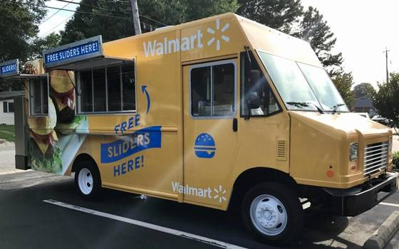 Free food! Walmart Sending Food Trucks to Hand Out Food Across Area