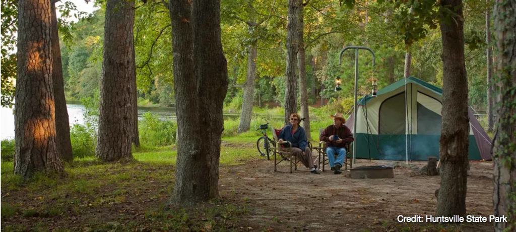 7 Amazing Camping Spots Around Houston
