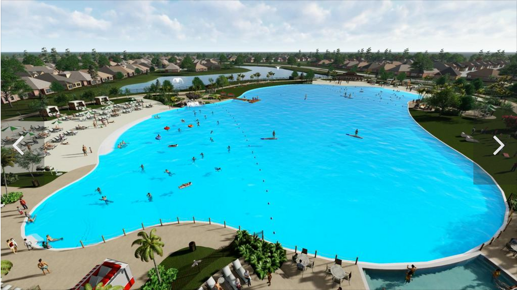 Land Tejas unveils plans for first Crystal Lagoon in Houston