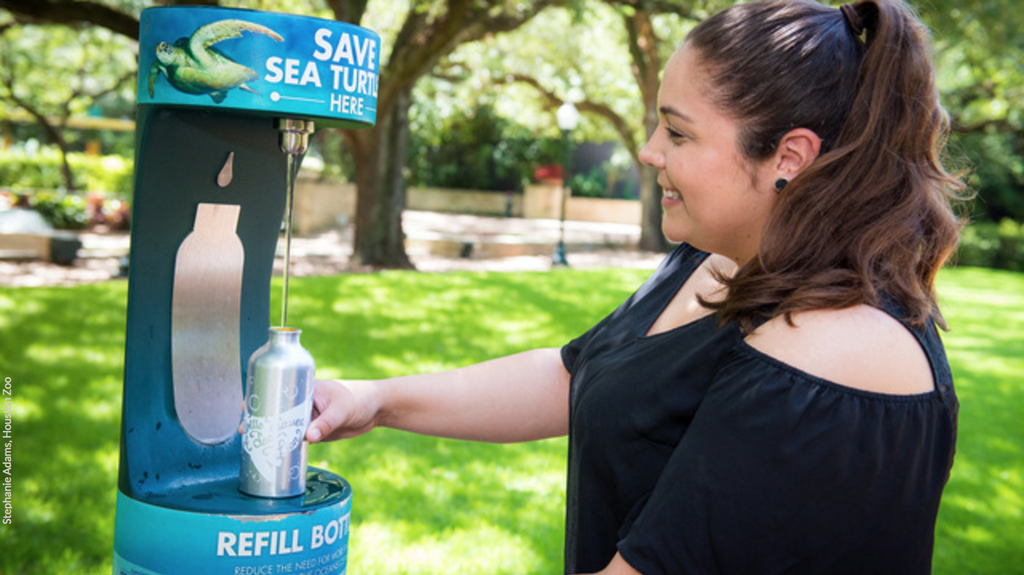 Big Changes Coming for Water Bottles at Houston Zoo