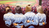 Astros' wives and girlfriends sport matching bedazzled jean jackets