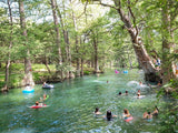 Take a Dip in Cypress Falls in Wimberley, Texas