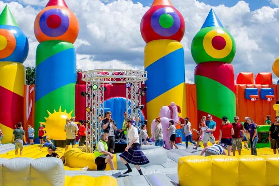 World's Largest Bounce House Coming to Houston for Halloween