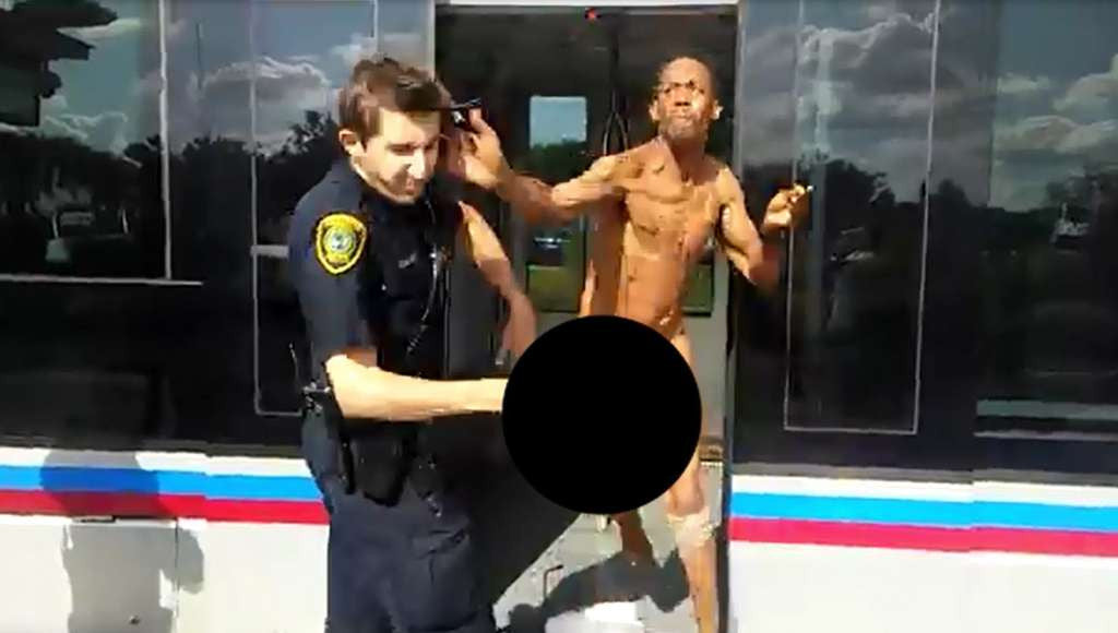 Naked Man Wielding Bug Spray Arrested After Punching Police at Metro Stop