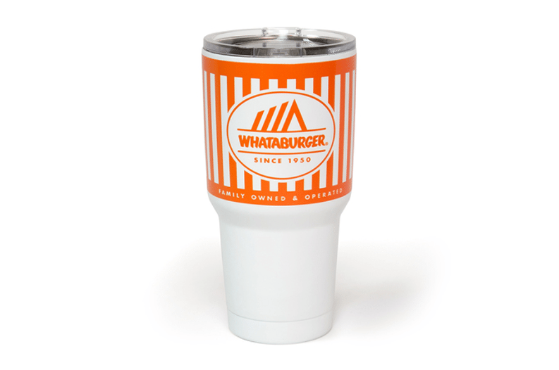 You Can Buy Tumblers That Look Like Whataburger Cups