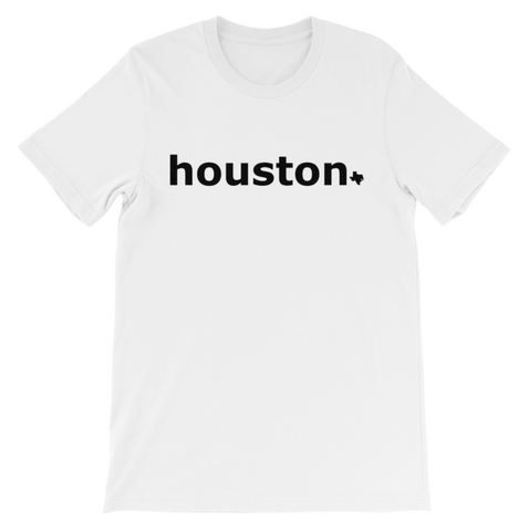 Houston White/Black Shirt