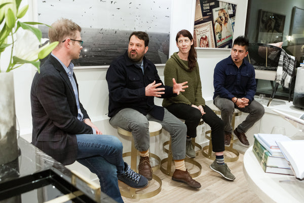 Q&A with Thatcher Wine, Stuart Brioza, Krasinski and Gonzalo Guzman